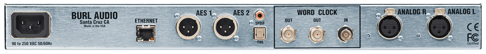 BURL AUDIO B2 Bomber ADC with Dante